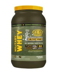 Military Whey Vanilla