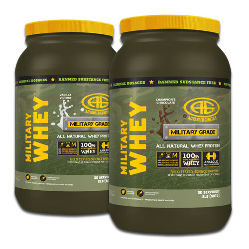 Military Whey Double Down